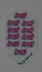 2 Set (6 flights) Budwesier Multi-Tie Slim Embossed Dart Flights