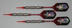 PREDATOR 18 gram Soft Tip Darts - Style Q3 - 2BA (3/16th inch) Tips and Shafts