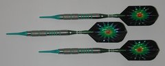 VIPER 18 gram Soft Tip Darts - Contoured Grip 90% Tungsten - Convertible - Steel/Soft Tip Darts NV1-18