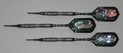 VIPER 18 gram Soft Tip Darts - Contoured Grip 90% Tungsten - Convertible - Steel/Soft Tip Darts NV3-18