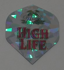 2 Set (6 flights) Miller High Life Holographic Standard Dart Flights