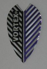 3 Sets (9 flights) Vortex Full Size BLACK/BLUE Flights -9005