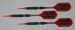 DYNAMITE 16 gram Soft Tip Darts - Scalloped Grip 80% Tungsten - Convertible - Steel/Soft Tip Darts DY7