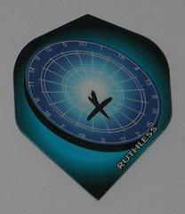 3 Sets (9 flights) Ruthless DARTBOARD Standard Flights - 1739