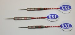 XXL 43 gram Steel Tip Darts - 80% Tungsten, Extra Heavy Darts - Add Extra Ummmmph to your game