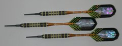 DYNAMITE 16 gram Soft Tip Darts - Contoured Grip 80% Tungsten - Convertible - Steel/Soft Tip Darts DY5