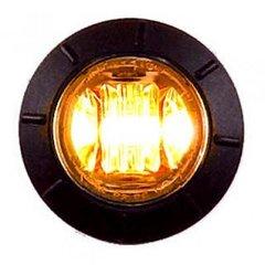 """3/4"""" Amber LED Light"""