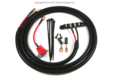 Universal Power Cable with Circuit Breaker and 4 post Busbar for Older Model RZR's and UTV's