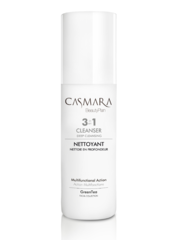CASMARA cleansers GREEN TEA 3 in 1 multifunctional Cleanser,Toner,Make-up remover-Enhancing peel off mask results