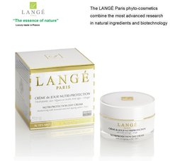 LANGE Paris luxury phyto-cosmetics NUTRI-PROTECTION DAY CREAM Restructure and Regenerates for a lasting Hydration