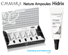 CASMARA 5 HIDRIX facial Ampoules Deeply moisturizing skin-enhance peel off mask results