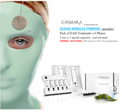 CASMARA OCEAN MIRACLE FIRMING-LIFTING 2x6 phases peel off masks treatments