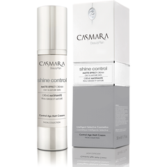 CASMARA facials Anti-Age MATTE EFFECT CREAM Shine control beauty plan Oily & mature skin
