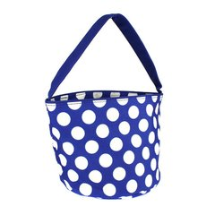 Personalized Polka Dot Easter Bucket Totes