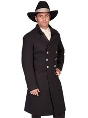 WahMaker Velvet Double Breasted Frock Coat