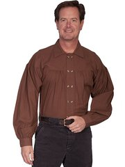 Old West Style Double Button Placket
