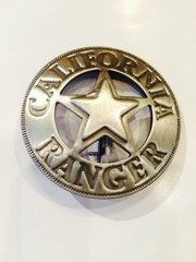 California Rangers Badge