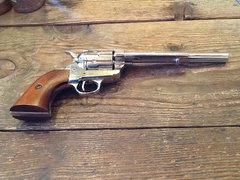"1873 Single Action Army With A ""Faux"" Nickel Finish And A 7 1/2"" Barrel"