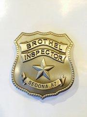 Sedona Brothel Inspector Badge