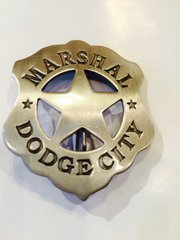 Dodge City Marshall Badge