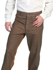 WahMaker Striped Saddle Seat Pants