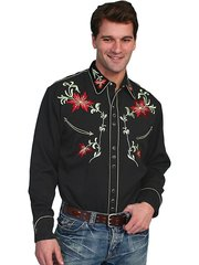 Legends Floral Embroidered Shirt