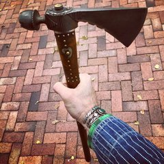1850s PEACE PIPE TOMAHAWK