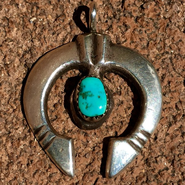 Sold 1930s sandcast silver turquoise small naja pendant deja vu sold 1930s sandcast silver turquoise small naja pendant aloadofball Images