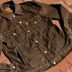 SOLD LEVIS BROWN CORDUROY TRUCKER JACKET