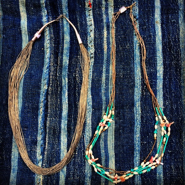 TRADITIONAL LIQUID SILVER NECKLACE