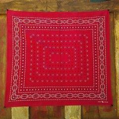 RED VINTAGE BANDANNA # 10