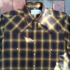 1980s STAND & DELIVER VATO CHOLO FILSON WOOL PEARL SNAP WESTERN SHIRT