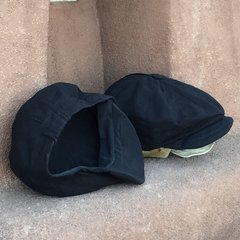 100% LINEN INSIDE & OUT MADE IN ENGLAND NEWSBOY CAP