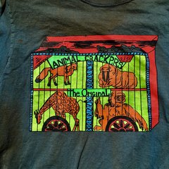 1970s ANIMAL CRACKERS AGED BUT NEW COTTON TSHIRT