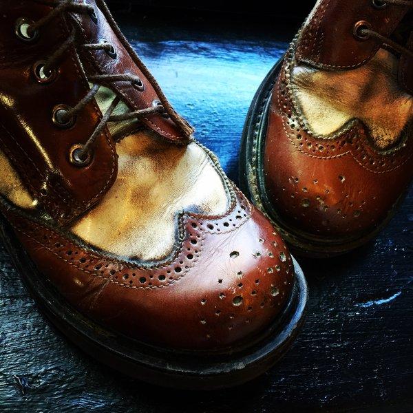 Vintage Preppy Clown Boots