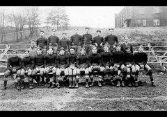 1880'S AMERICAN HIGH SCHOOL FOOTBALL TEAM