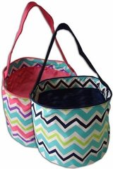 Chevron Easter Buckets (small)