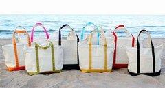 Zippered Beach Tote