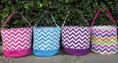 Chevron Easter Bucket (large)