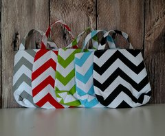 Chevron Automobile Trash Bag/Organizer