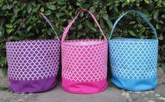 Quatrefoil Easter Bucket