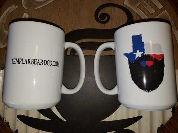 Bearded Texan mugs