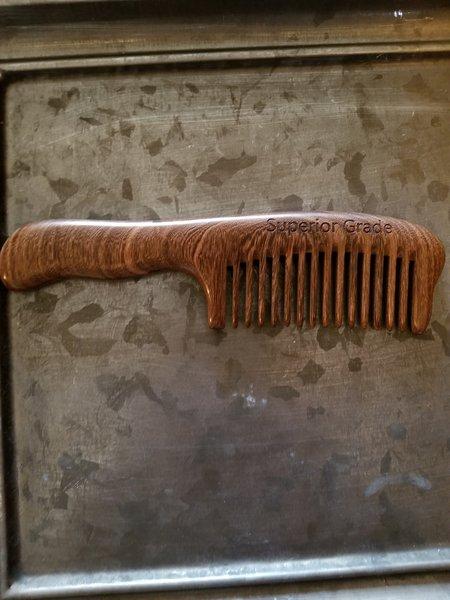 Golden Sandalwood comb