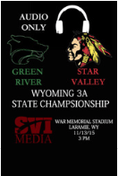 Football 2015: Star Valley vs. Green River (Audio Only, Championship Game)