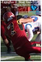 Football 2015: Douglas vs. Star Valley (Playoffs)