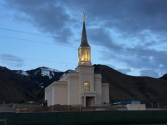 Star Valley LDS Temple Angel Moroni Placement