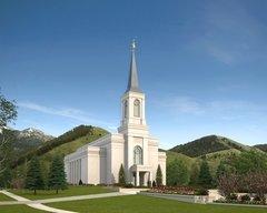 Star Valley LDS Temple Groundbreaking Ceremony