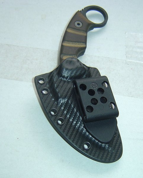 EOD RANGER KARAMBIT(ONTARIO KNIFE CO) KYDEX SHEATH | custom made kydex knife sheaths