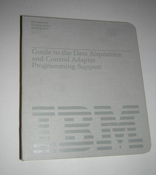 Data Acquisition And Control : Ibm pc data acquisition and control adapter daca original