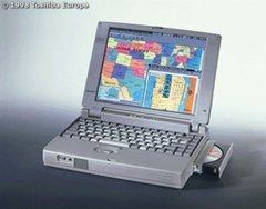 Toshiba Satellite Pro 430CDT P120 48MB 1.3GB Notebook Computer Windows 95